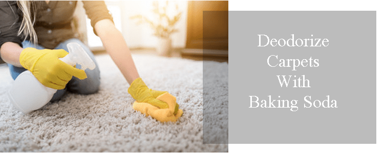 Deodorize Carpets With Baking Soda